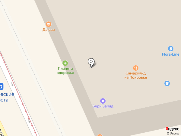 Да Еда на карте Москвы