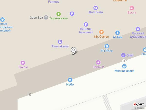 Miss shick на карте Москвы