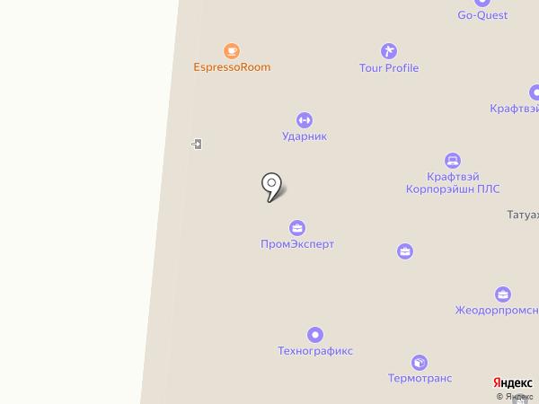 Espressoroom на карте Москвы