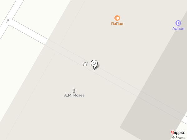 ПаПан на карте Москвы