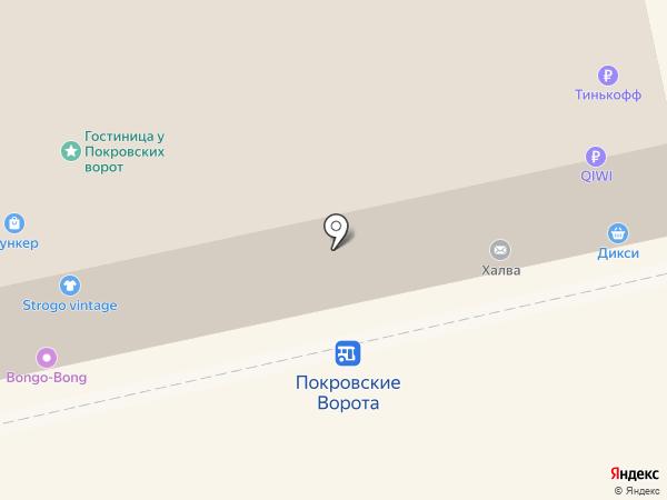 Вяжи - не тужи! на карте Москвы