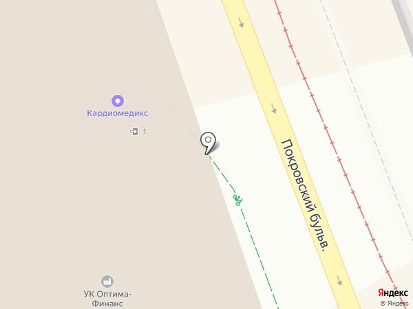 Sevojno на карте Москвы