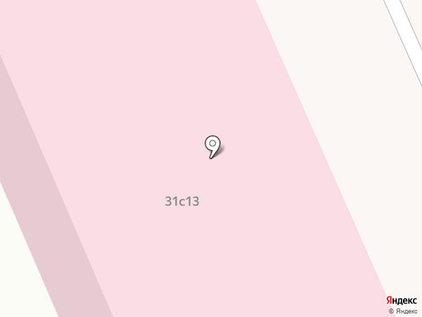 Медицинский центр на карте Москвы