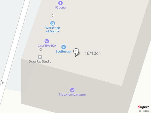 Свой букет на карте Москвы