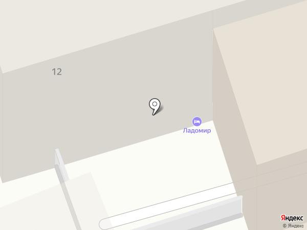 LOST на карте Москвы