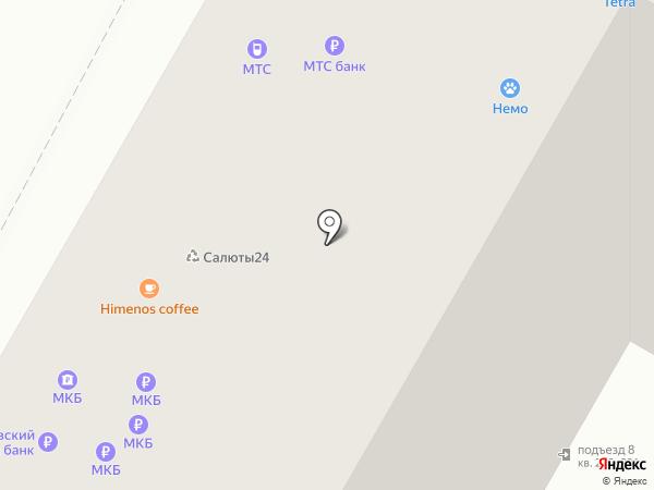Круста на карте Москвы