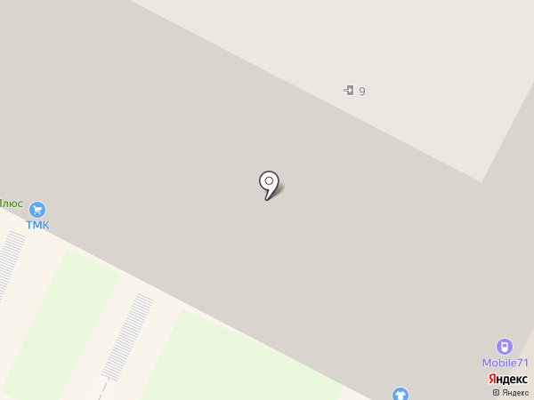Центральная Сберкасса, КПК на карте Тулы
