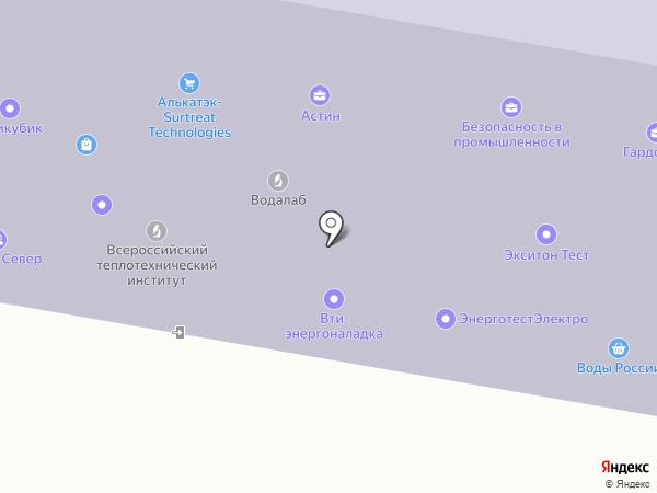 STR+ на карте Москвы