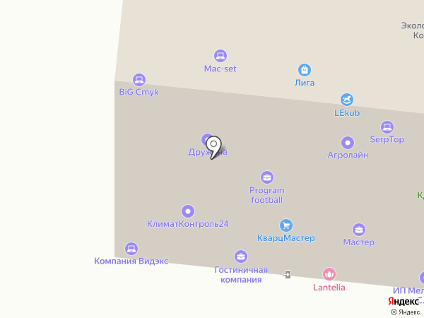 SerpTop на карте Москвы