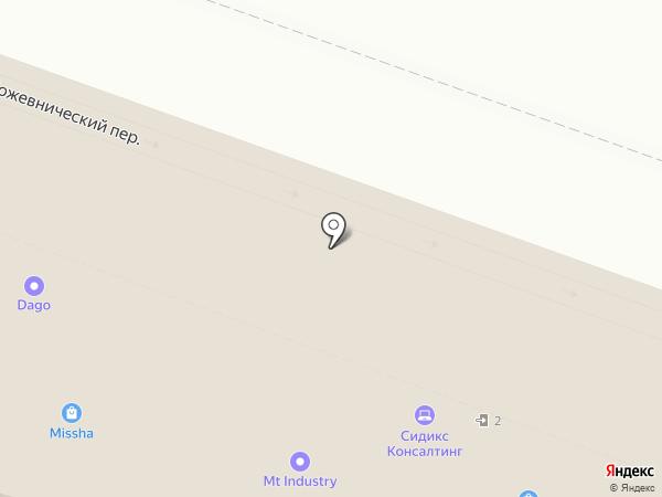 Redhelper на карте Москвы