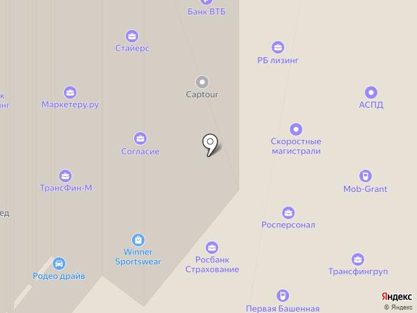 Urvista на карте Москвы