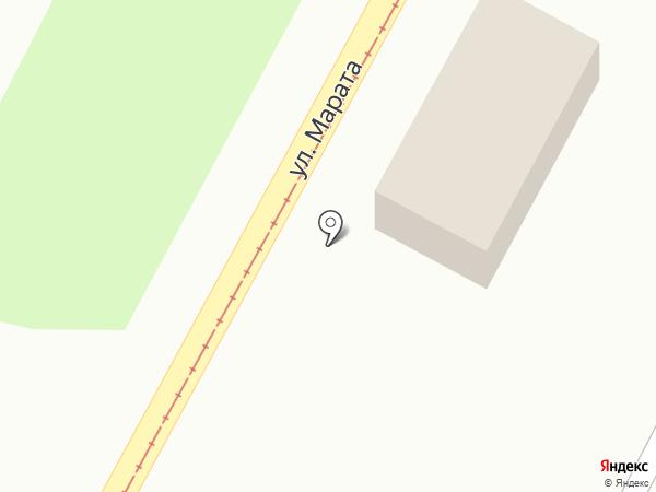Марата 35 на карте Тулы