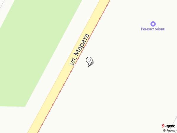 Мастерская по ремонту обуви на карте Тулы