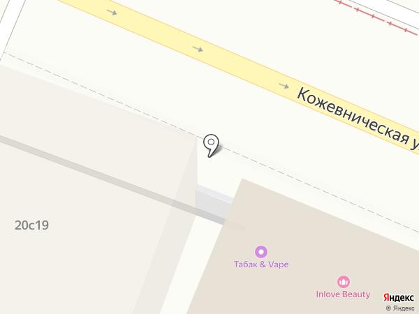 Азбука Любви на карте Москвы
