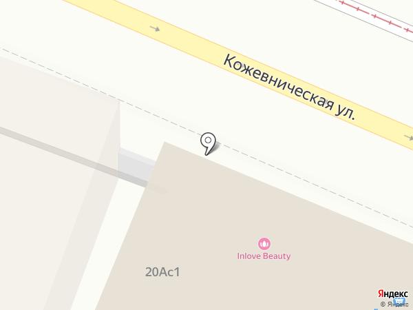 Салон красоты на карте Москвы