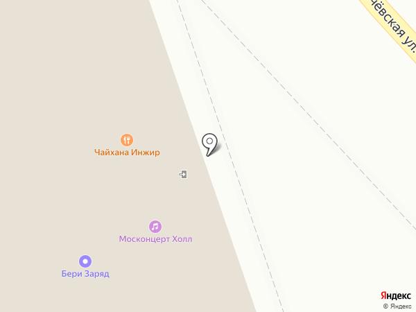 ИНЖИР на карте Москвы
