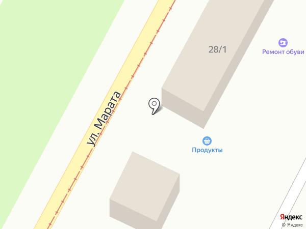 Магазин разливного пива на карте Тулы