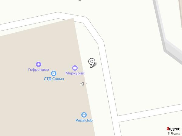 Сквот на карте Москвы