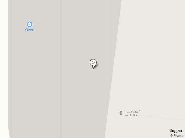 Алексеевский на карте Москвы