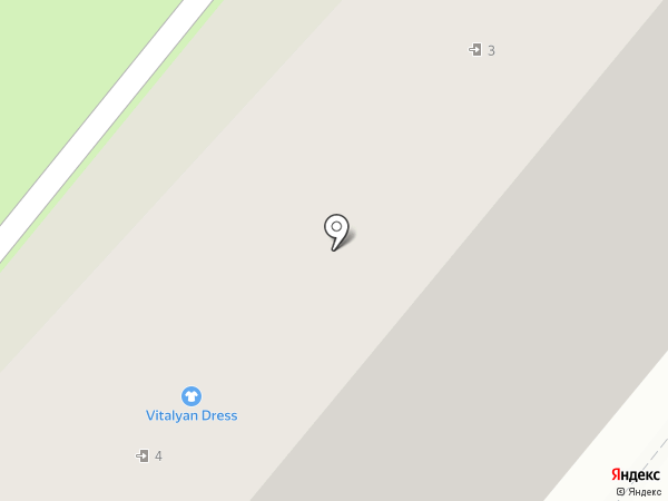 Пион на карте Москвы