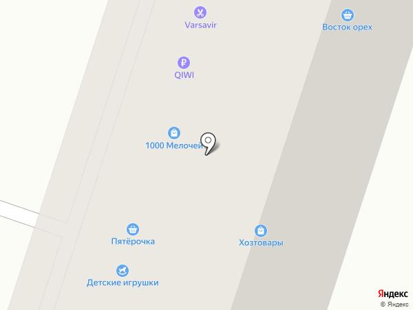 Комиссионный магазин на карте Москвы