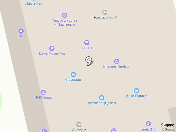 Транспутьстрой на карте Москвы