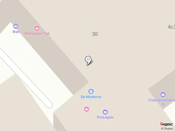 Social Push на карте Москвы