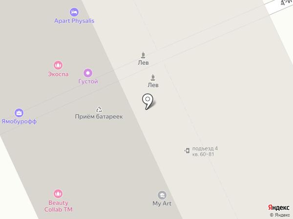 Хорошие Деньги на карте Москвы