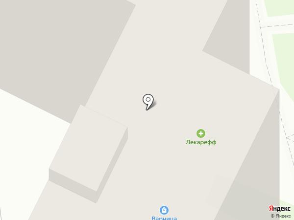 Лекарефф на карте Тулы