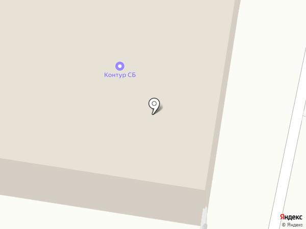 Контур-КСБ на карте Москвы