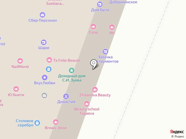 Аура-эстетик на карте Москвы