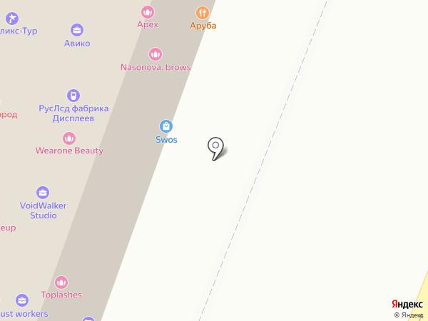 Art space на карте Москвы
