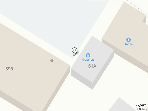 Парадайс на карте Варениковской