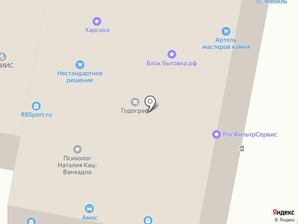 Адвокат Журавлев А.Е. на карте Москвы