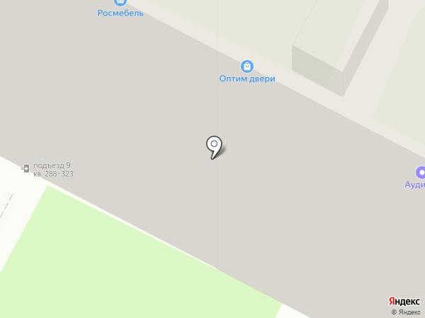 Сеть магазинов кондитерских изделий на карте Тулы