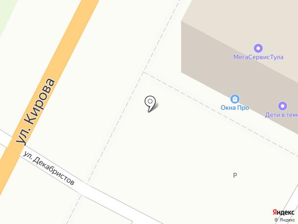 Атбит на карте Тулы
