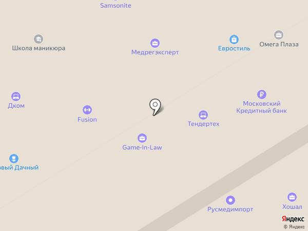 TourPay на карте Москвы
