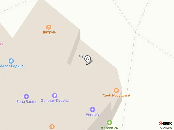 ПРОСТОЦВЕТЫ на карте Москвы