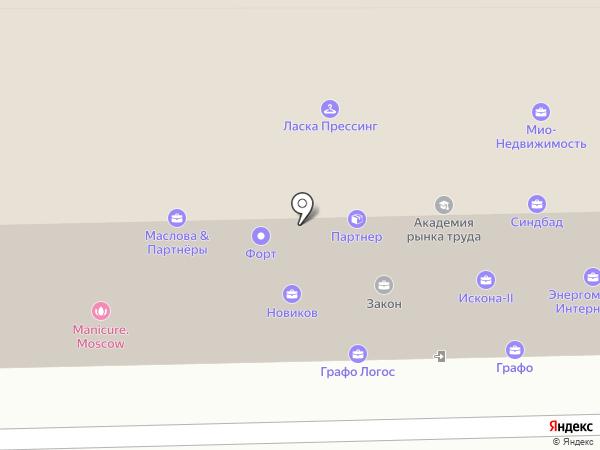 Мир хобби на карте Москвы