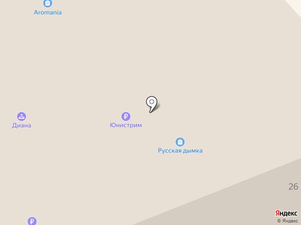 Мосцветторг на карте Москвы