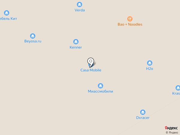 Geos Ideal на карте Москвы