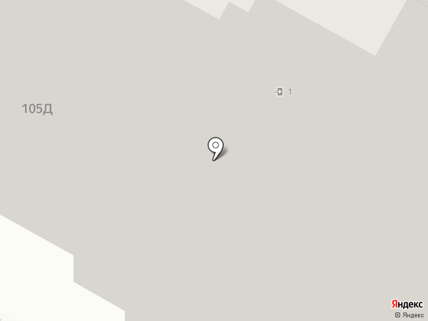 Замочная 105, ТСН на карте Тулы