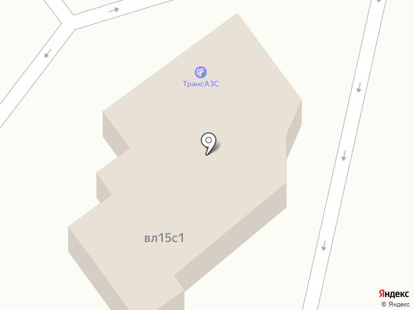 ТрансАЗС на карте Москвы