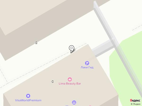 Luxe Visit на карте Москвы