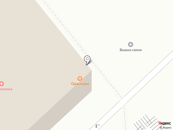 Оджахури на карте Москвы