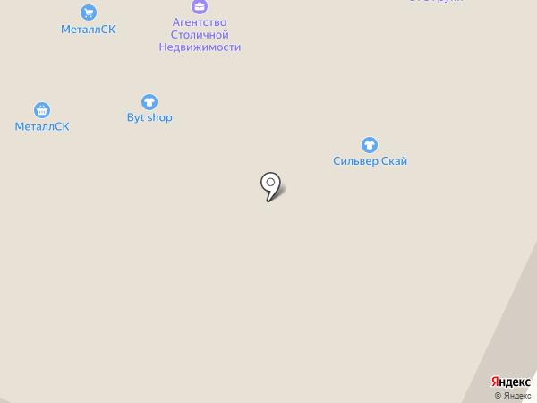 Аккорд на карте Москвы