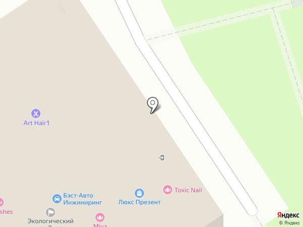 FibraFabra на карте Москвы