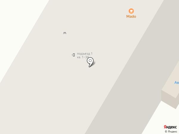 Лю-На на карте Москвы