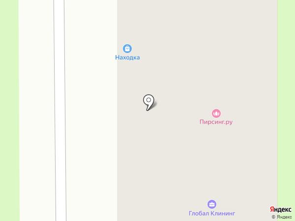 Розариум на карте Москвы