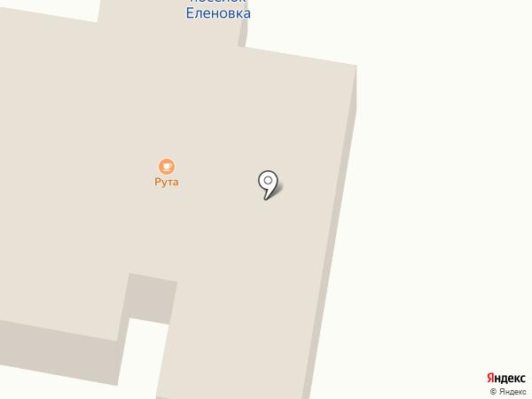 Рута на карте Оленовки